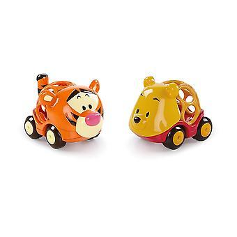 Helle Starts, Disney Baby, Winnie Puuh Go Grippers Autos aus robustem, leicht greifbarem Material,