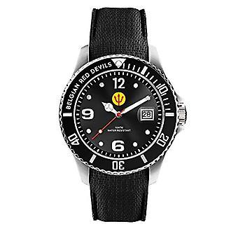 Ice-Watch - Red Devils Black - Miesten kello silikonihihnalla - 016098, Suuri, Musta
