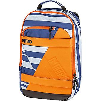 Nitro Snowboards 2018 Casual Backpack, 46 cm, 27 liters, Multicolored (Heather Stripe)