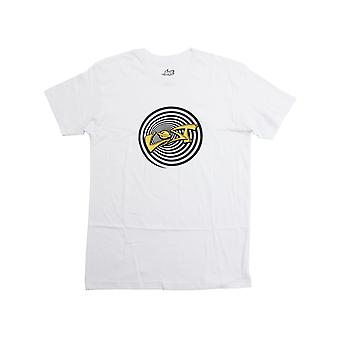 Lost Retro Lost Short Sleeve T-Shirt in White
