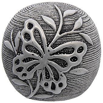 Joe Davies fjäril dekor boll - Gunmetal