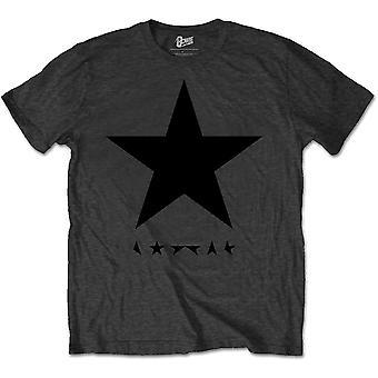 David Bowie - Blackstar (en gris) Unisex XX-Gran camiseta - Gris