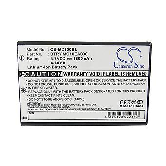 Cameron Sino Mc100Bl Battery Replacement For Symbol Barcode Scanner