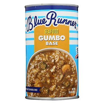Blå Runner Gumbo Kreolsk, sag af 6 X 25 Oz