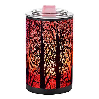 Fragrance Wax Melt Warmer In 7 Colors Led