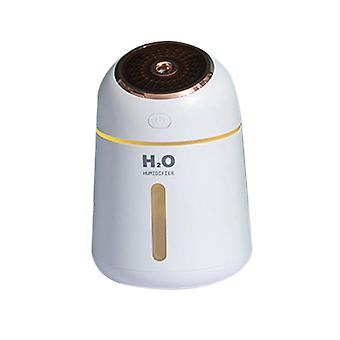 White 9.6x9.6x13.9cm usb aromatherapy air humidifier homi2593
