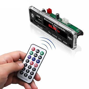 Bluetooth Wma Decoder Board, Audio Module, Color Screen Support, Usb, Sd, Aux