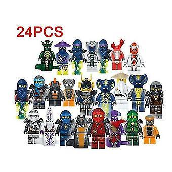 Ninjago Mini Figuras Set de 24pcs