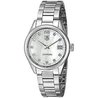 Tag Heuer Women's Carrera Mother of pearl Dial Watch - WAR1314.BA0778