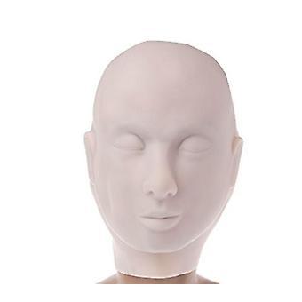 SPMU Tatuering Öva Hud Modell Huvudmask [01]