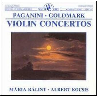 Albert Kocsis - Paganini Goldmark Concertos de Violino. CD ESCASSO. O VGC. 5991810016