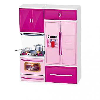 Two-in-one Kitchen Cabinet Toy