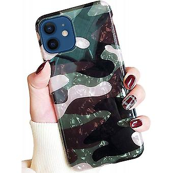 Iphone  12 Pro Army Color Case