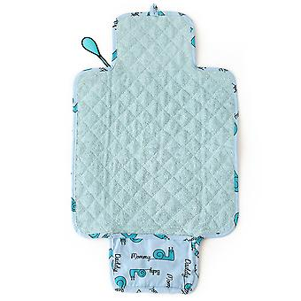 Milk&Moo Sangaloz Baby Changing Pad, Waterproof Portable Changing Pad Clutch, Foldable Ultra Soft Diaper Mat, Lightweight Design For Baby Changing Station, Travel Changing Pad