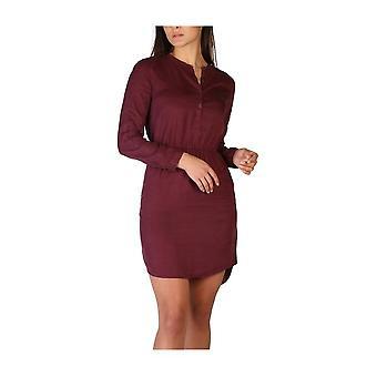Calvin Klein -BRANDS - Одежда - Платья - J20J205999-509 - Женщины - бордовый - XS