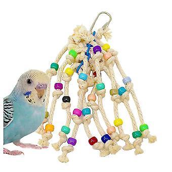 Parrot Bird Bite Speelgoed Kleurrijke Kralen Pull String