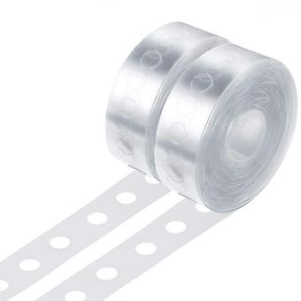 2 Pack Balloon Strip For Arch Garland Decorating, 10 Meters In Total (single Hole Design)