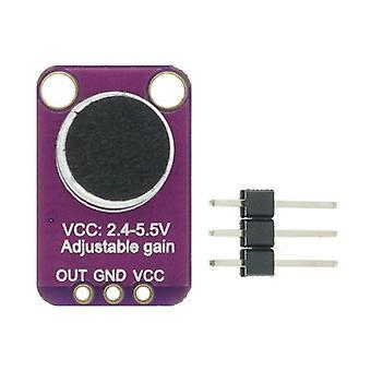 2Pcs electret مكبر للصوت ميكروفون مستقر max9814 وحدة التحكم التلقائي كسب