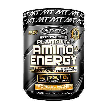 Platinum Amino + Energy, Tropical Mango - 317 grams