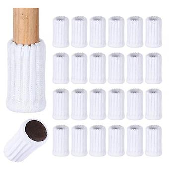 16 Pack Chair Leg Protectors Knitted Furniture Socks