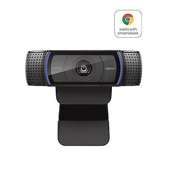 Logitech C920 PRO HD WEBCAM, 15 MP, 1920 x 1080 pixeli, 720p, 1080p, H.264, USB 2.0, Negru