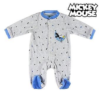 Traje de manga larga para bebé Mickey Mouse 74611 Gris Azul