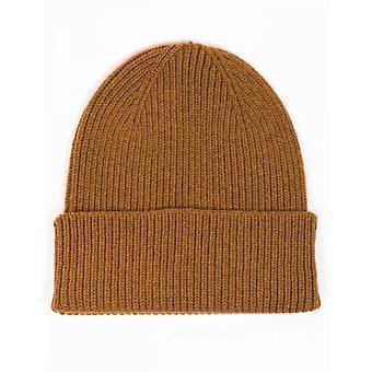 Colorful Standard Merino Wool Beanie Hat - Sahara Camel