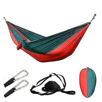 Hammocks outdoor portable camping parachute sleeping double hammock garden swing hamac hanging chair flyknit