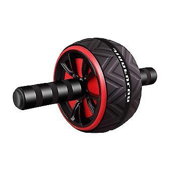 Rullo ruota antiscivolo moderno antiscivolo di alta qualità per fitness e allenamento (nero)