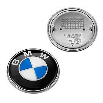 Bmw Logo Emblem Hood / Trunk 82mm Serie 1/3/5/6/7/8 / X / Z E30 / E34 / E36 / E39 / E46 / E90 / E91 / X5 / M3 / M5
