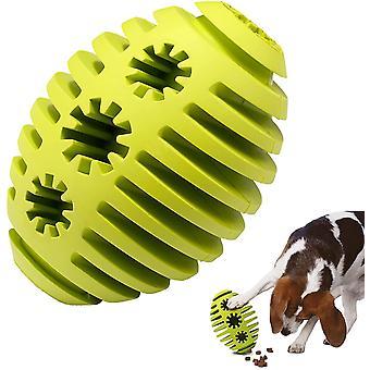 Käsittele annostelija koira lelu pallo syöttö lelu pallo hampaat puhdistus palapeli lelu