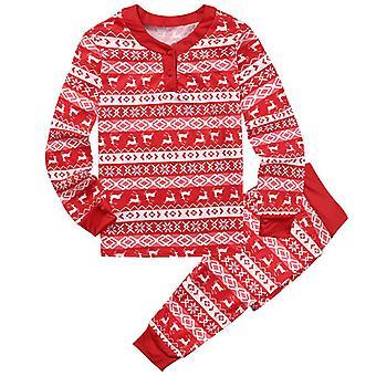 Weihnachten Familie Matching Erwachsene Kinder Baby Pyjama Set Nachtwäsche Nachtwäsche