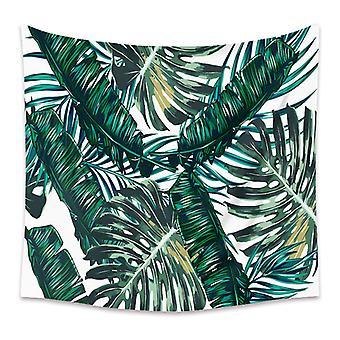 tropiske planter billedvev, vegg hengende klut, dekorasjon
