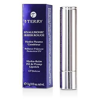 Por Terry Hyaluronic Sheer Rouge Hydra Balm Fill & Plump Lipstick (uv Defense) - 15 Grand Cru - 3g/0.1oz