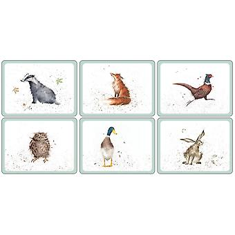 Pimpernel Wrendale Designs Placemats Set of 6