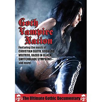 Import USA goth Vampire Nation [DVD]