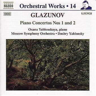 A. Glazunov - Glazunov: Piano Concertos nr. 1 & 2 [DVD] USA import
