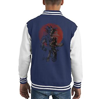 Yükselen Saiyan Son Goku Dragon Ball Super Kid's Varsity Jacket