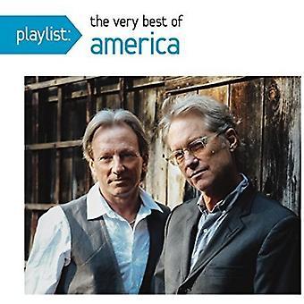 America - Playlist: Importazione di molto migliori dell'America [CD] USA
