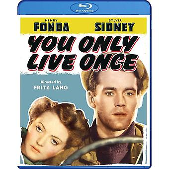 You Only Live Once [Blu-ray] USA import