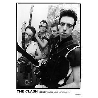 Clash Mogador Paris1981 affiche Poster Print