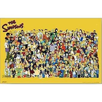 Simpsons Luo juliste Juliste Tulosta