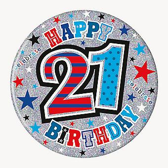 Simon Elvin 21st Birthday Giant Badge