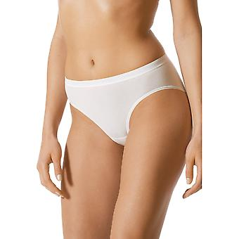 Mey 89605-1 Women's Best Of White Solid Colour Knickers Panty Brief