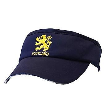 Scotland Lion Embroidered Visor Cap