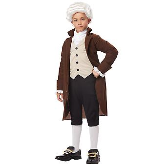 Benjamin Franklin Colonial Man Founding Father Scientist Historical Boys Costume
