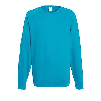 Fruit Of The Loom Mens Lightweight Raglan Sweatshirt
