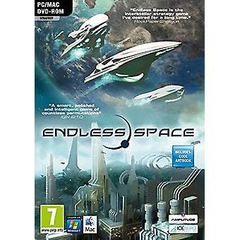 OÄNDLIGA rymden PC DVD-ny