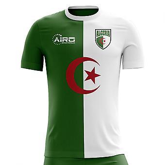 2020-2021アルジェリアホームコンセプトサッカーシャツ