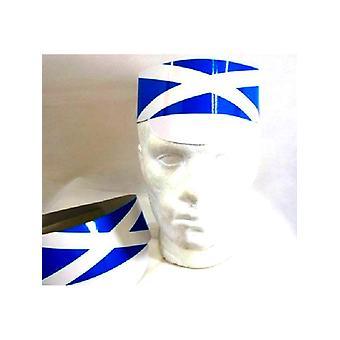 Skottlands flagga papp hatt